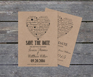 etsy, save the date card, and diy printable image