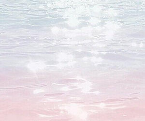 pastel and water image