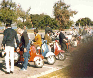 mods, scooters, and anglophilia image