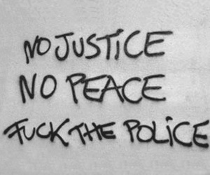 fuck, police, and graffit image