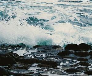 wallpaper, ocean, and blue image