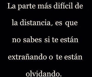 frases, olvidar, and distancia image