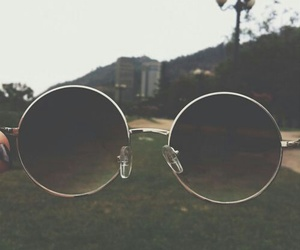 glasses, vintage, and grunge image