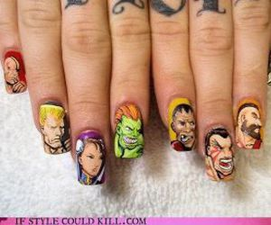 nails and street fighter image