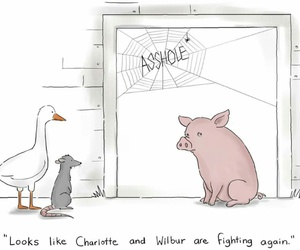 animals, book, and cartoon image