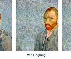 art, not funny, and van image
