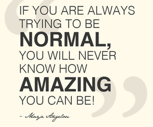normal and quotes image