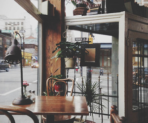 vintage, cafe, and indie image