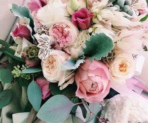 bunch, floral, and flowers image