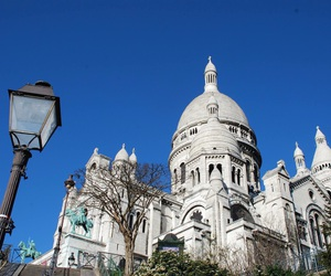 blue sky, france, and montmartre image