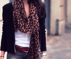 animal print, outfit, and style image