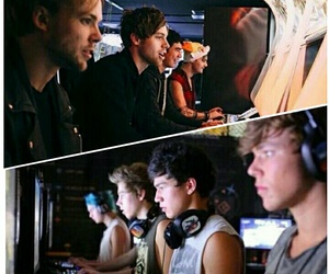 videogames, 5sos, and michaelclifford image
