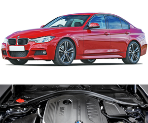 gearbox, petrol engines, and bmw 3-series image
