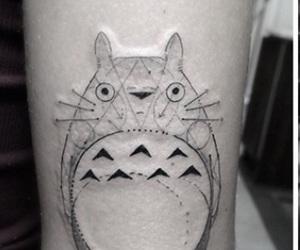 anime, tatoo, and black image