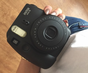 birthday, black, and camera image