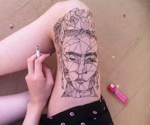 aesthetic, grunge, and henna image