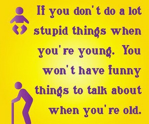 young, old, and funny image