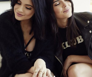 kylie jenner, kendall jenner, and sisters image