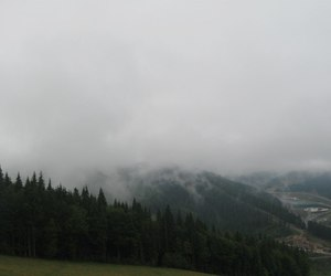 carpathians, clouds, and grey image