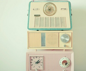 radio, vintage, and pastel image