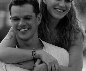 couple, happiness, and jason bourne image