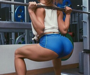 fit, healthy, and squat image