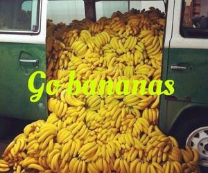 bananas, easel, and font image