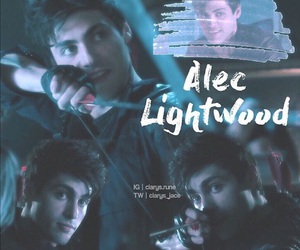 serial, tv series, and alec lightwood image