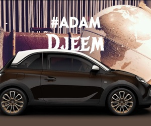 adam, car, and opel image