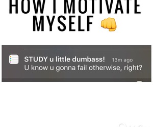iphone, studying, and reminder image