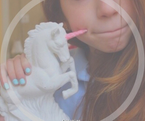 unicorn, tumblr, and tumblr girl image