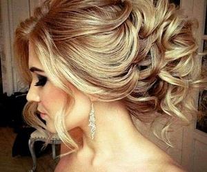 hair, make, and up image