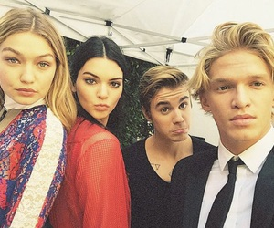 famous, justin bieber, and cody simpson image