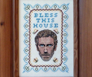 house, hugh laurie, and bless this house image