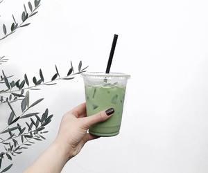 green tea, tea, and matcha image