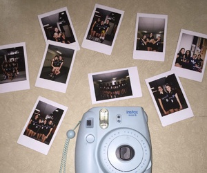 goals, poloroid, and team image