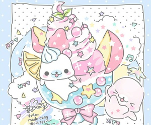 cartoon, kawaii, and pastel image