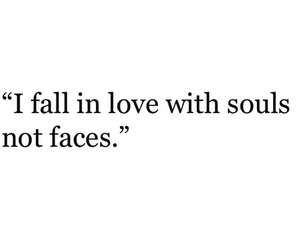 quote, face, and soul image