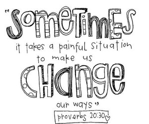 quote, change, and bible image