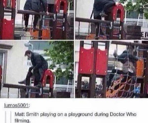 doctor who, funny, and matt smith image
