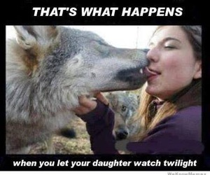 funny, twilight, and girl image