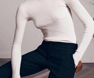 beige, minimalistic, and model image