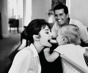 audrey hepburn, family, and audrey image