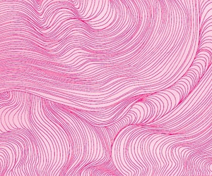 pink, lines, and art image