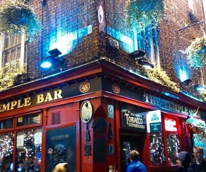 dublin, temple bar, and trip image