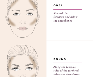 makeup, beauty, and contouring image