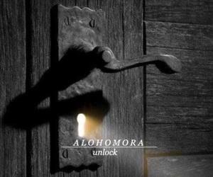 light and door image
