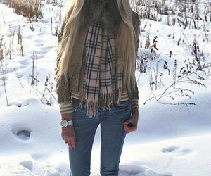 blonde, alena shishkova, and winter image