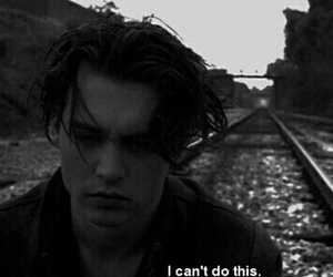 sad, johnny depp, and quotes image