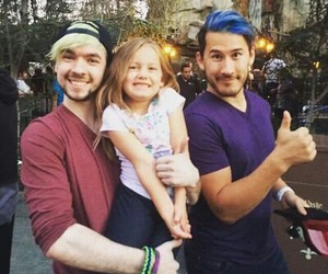jacksepticeye, markiplier, and mark image
